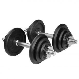 Дъмбели с метални тежести