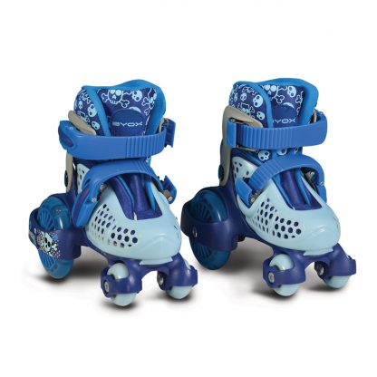 Кънки Little Beetle Blue Boy